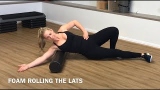 Foam Rolling for the lats
