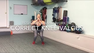 Resistance band exercise for your knees