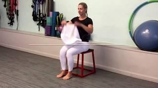 Julie in gym