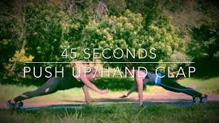 pushup hand clap