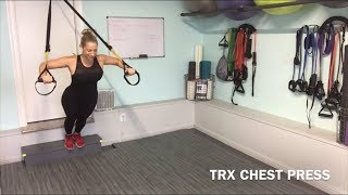 TRX chest press