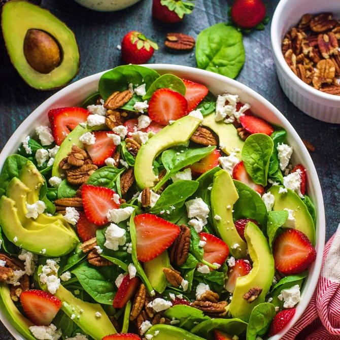 https://www.juliesinner.com/strawberry-avocado-spinach-salad/