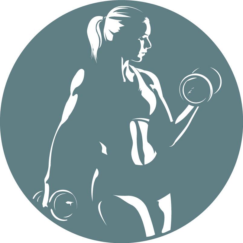 Julie's Garage gym logo
